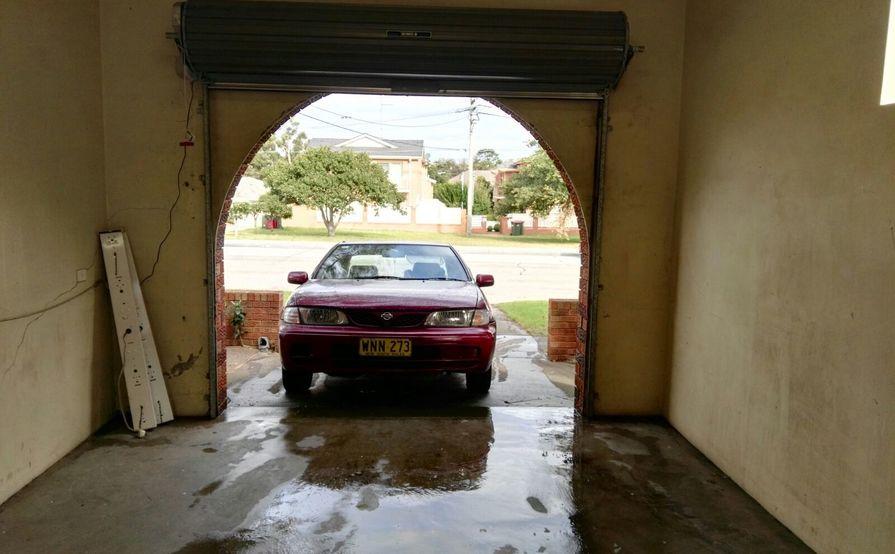 Large double tandem Lock-up Garage for Storage or Parking
