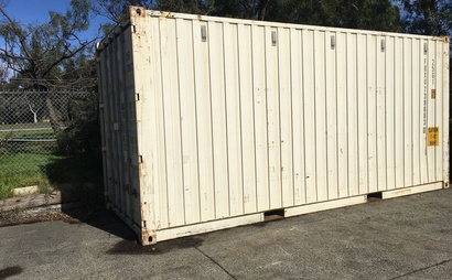 Fairfield NSW - 20ft shipping container storage space