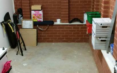 HUGE SECURE STORAGE AREA  IN DIAMOND CREEK **** AREA WILL BE CLEARED AND CLEANED***