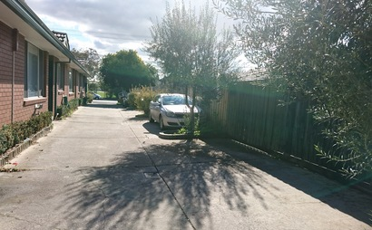 Parking space in Moreland Road, Brunswick
