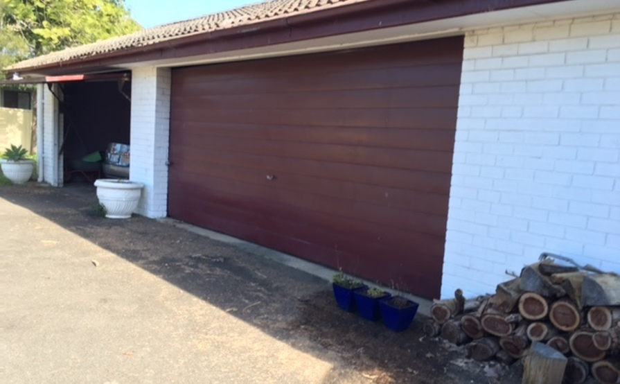 Suthern's double garage in Seven Hills