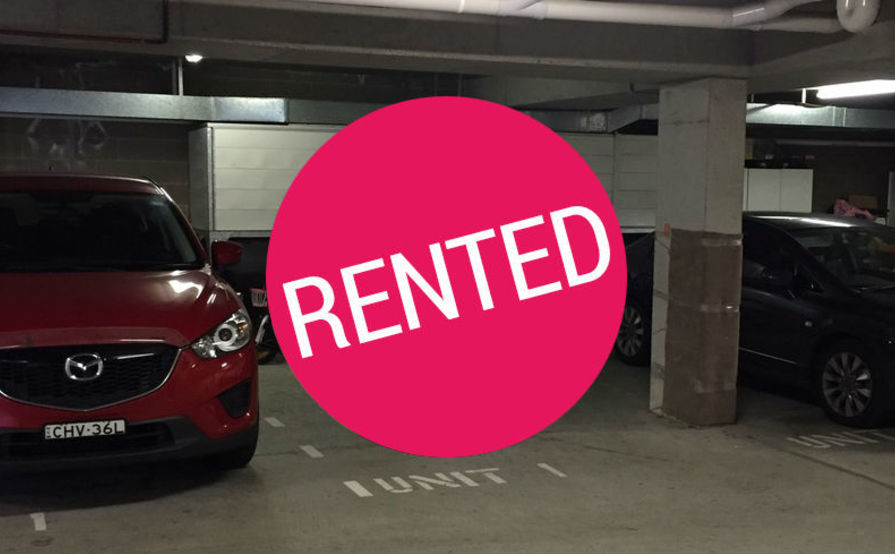 Undercover and secure parking space in Bondi
