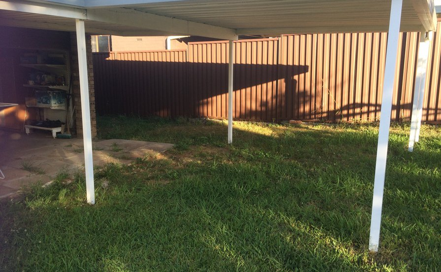 Secure Carport Space Available in neighborhood suburb.