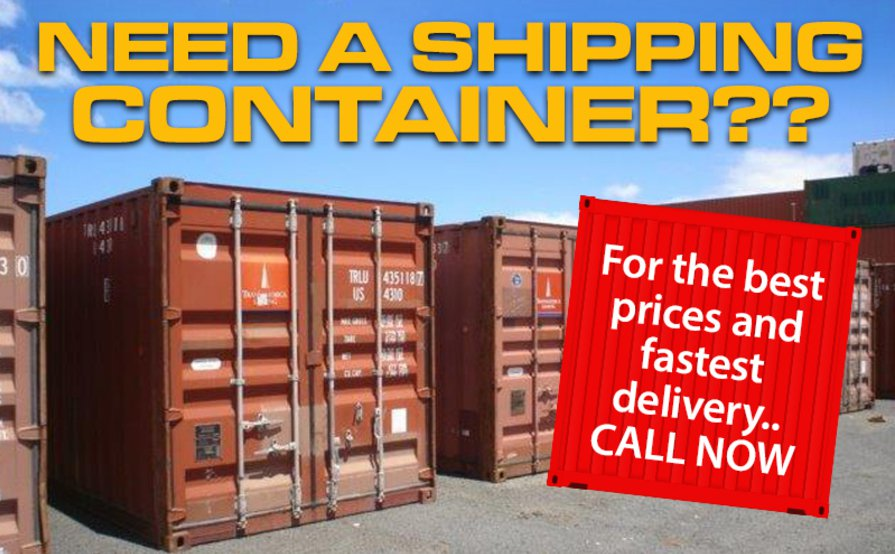 Shipping Containers For Storing your items