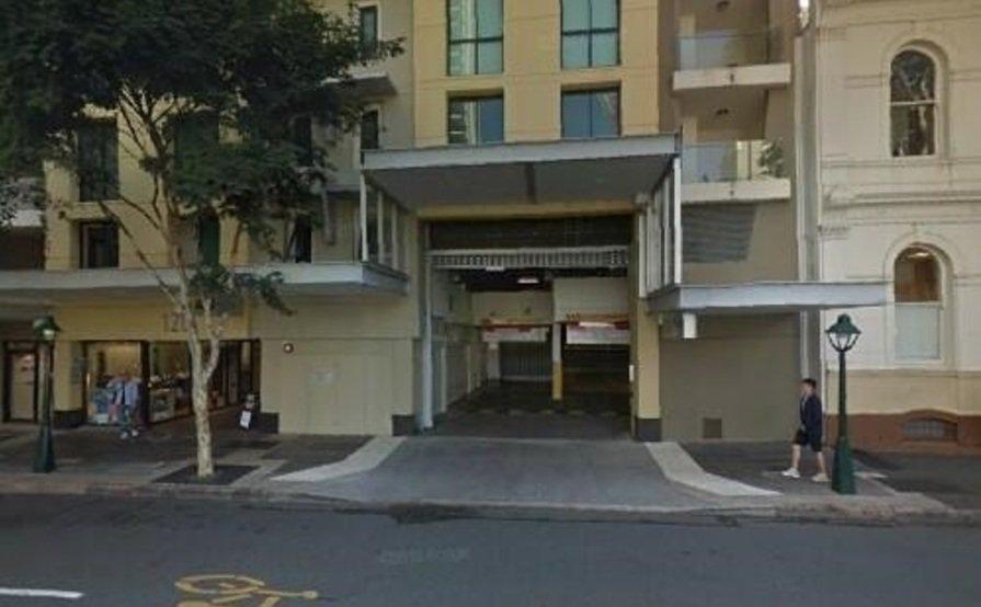 Secure undercover carpark in Brisbane CBD