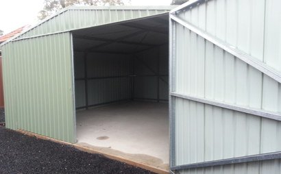 STORAGE DOUBLE GARAGE SHED FOR RENT - 1 Mth Min RENT Available 20/1/17