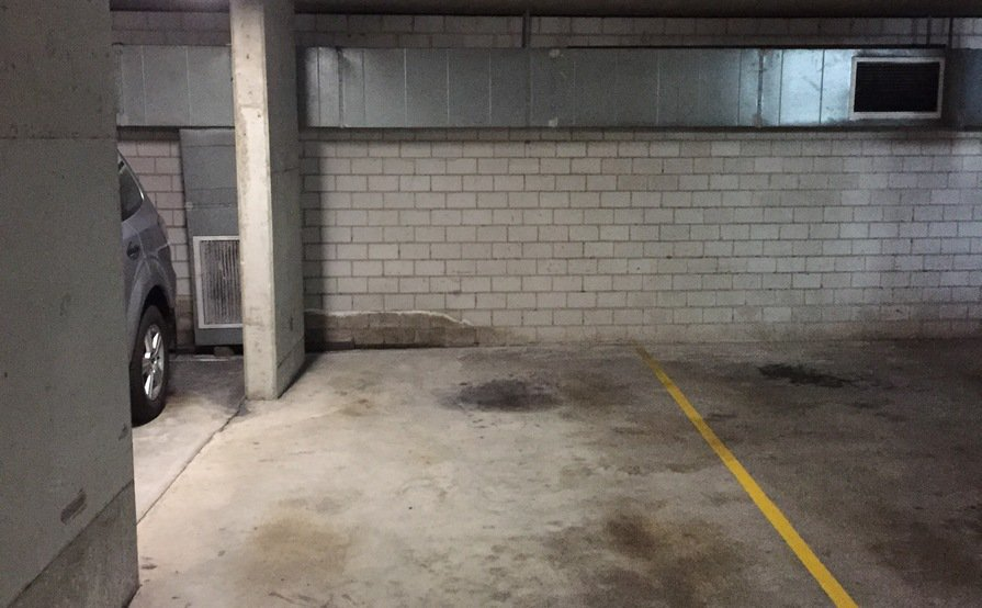 Secure carpark next to central station