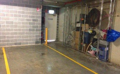 Secure underground carpark