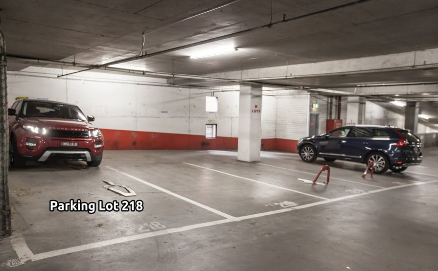Tandem Car Space (24/7 access with swipe car) in the heart of CBD (1-2 months lease)