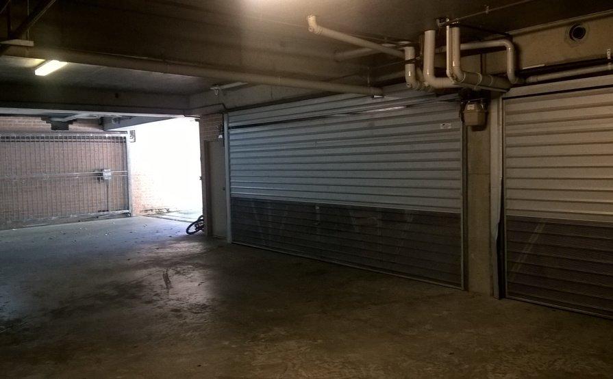 Secured Brick wall Double Lockup Garage/Storage.