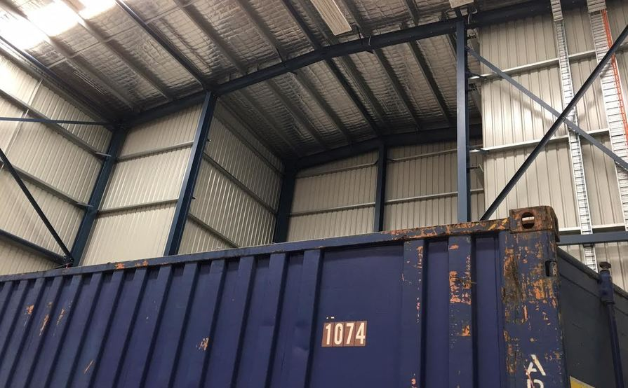 Punchbowl - 20ft High cube Container