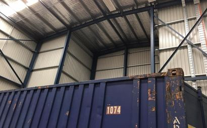 Brisbane - 20ft High cube Container