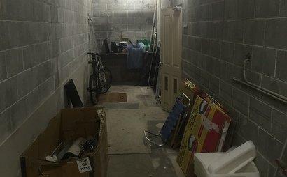 storage room in secure underground carpark-Waverley