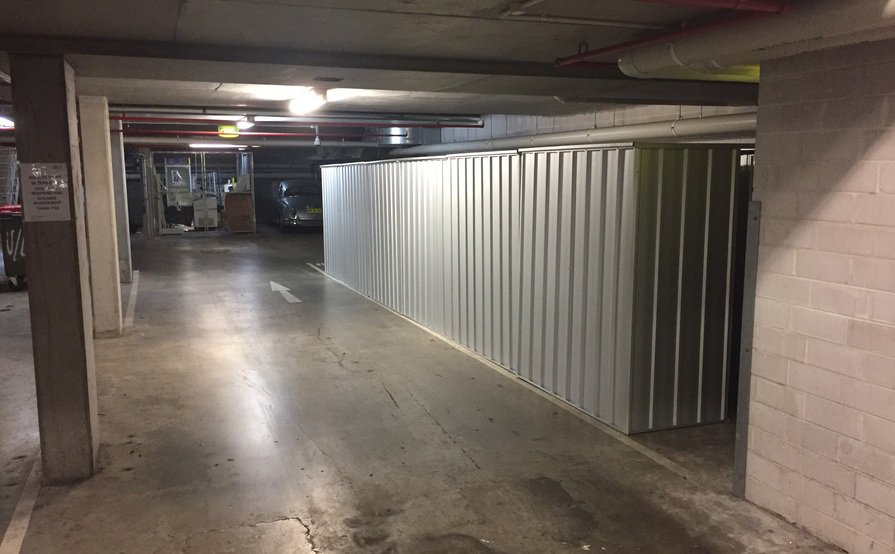 Secure Storage Shed at UniLodge 1.5m x 0.8m x 1.8m