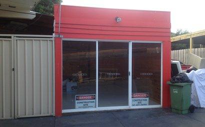 Converted Single Car Garage Fit For Storage