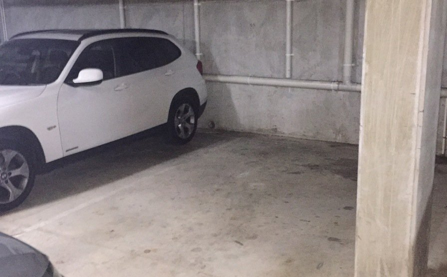 Secure underground single car park space in Collingwood for VEHICLE STORAGE