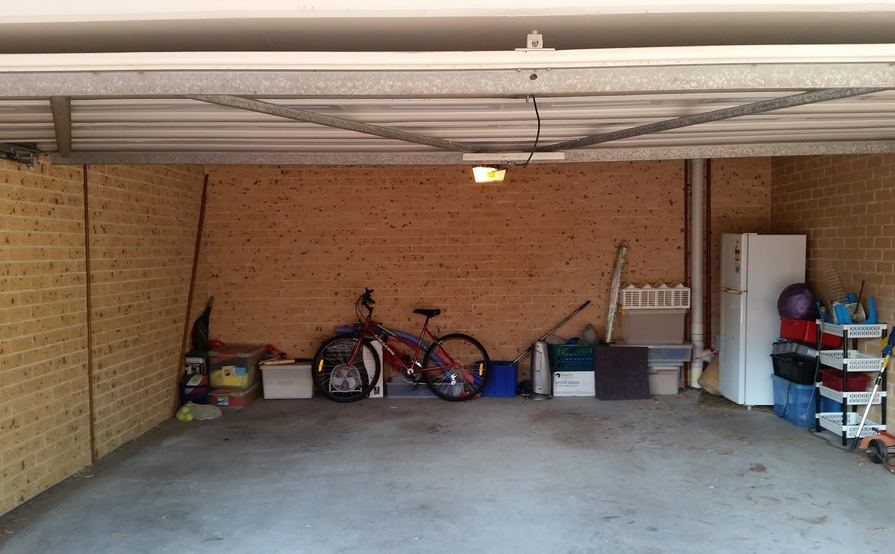 Parramatta - Shared Double Garage. Owner's car is on one side