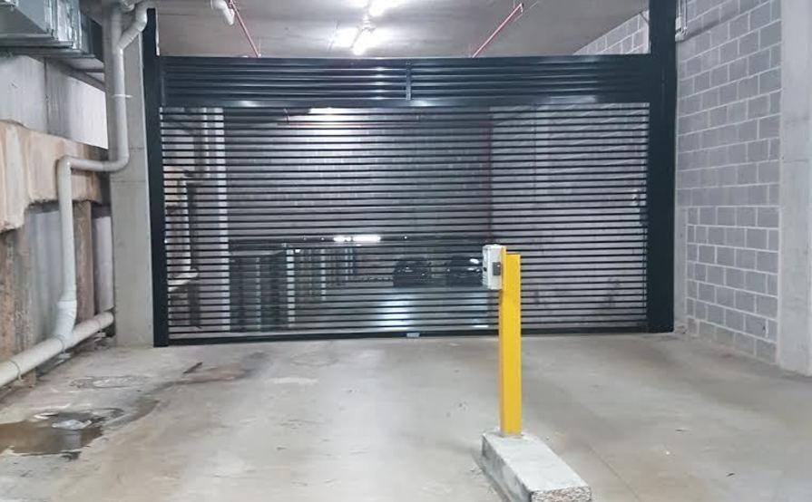 Underground parking space