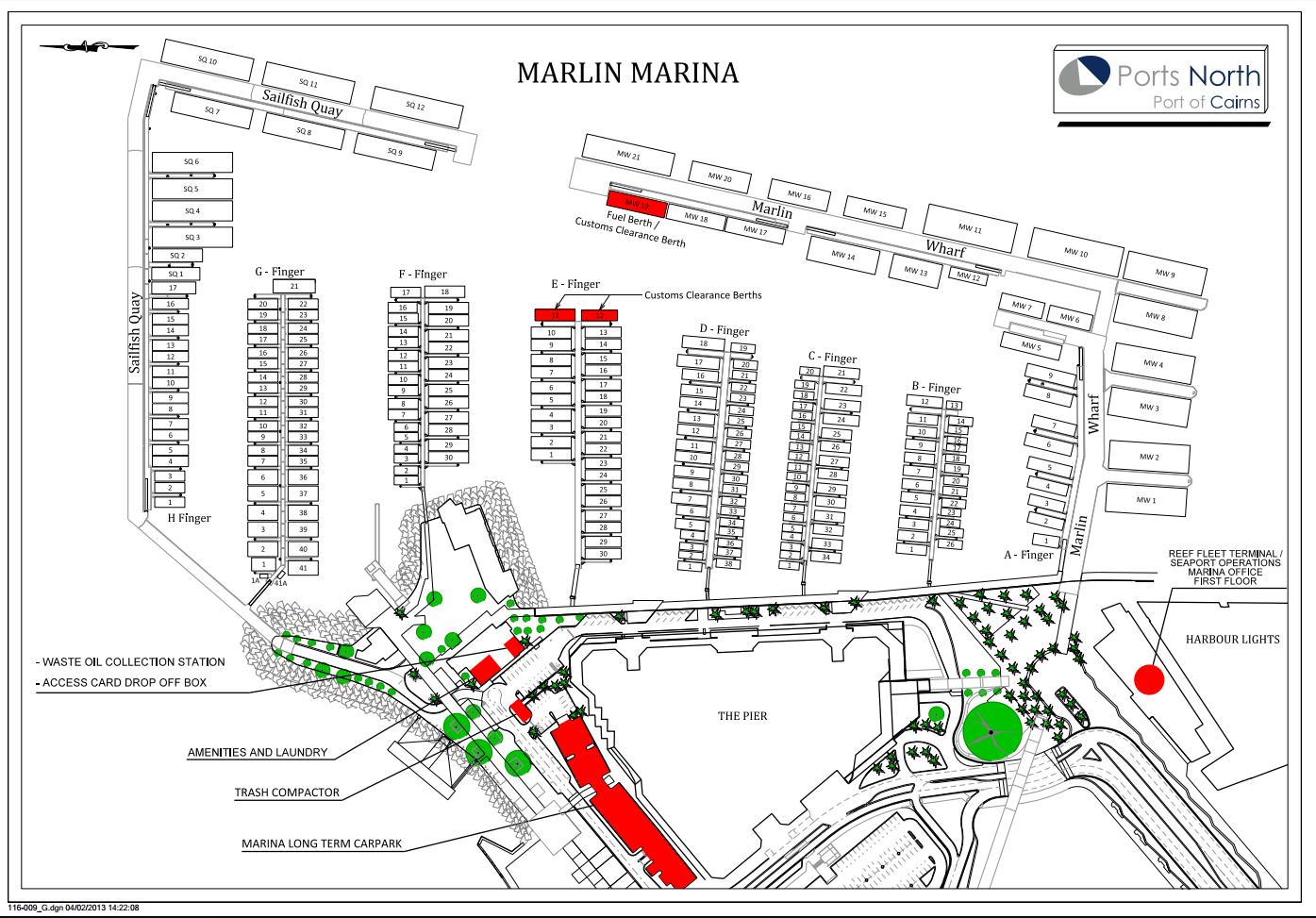 Cairns Marlin Marina