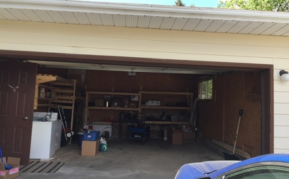 Double Garage in Millwoods