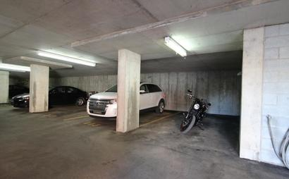 Heated underground parking in East Village