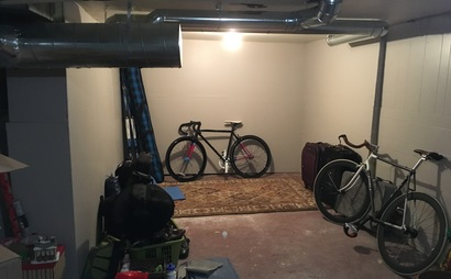 Large basement storage off whyte ave