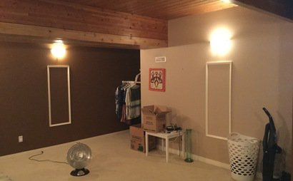 Large Secure & Heated Storage Room