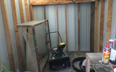 Large shed available for rent