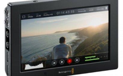 Blackmagic Video Assist 4K screen and recorder