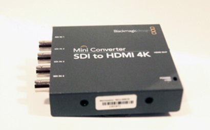 Blackmagic SDI to HDMI 4K converter