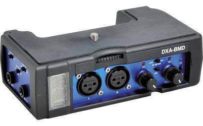 Beachtek DXA-BMD audio adapter for BMC 4K