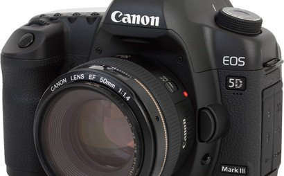 Canon 5D Mk3 kit with EF prime lens, Vari ND and Follow Focus