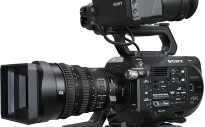 Sony FS7 with 28mm-135mm