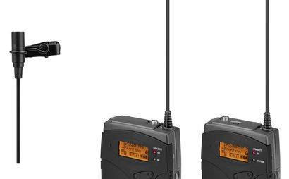 Senheiser radio lav mics