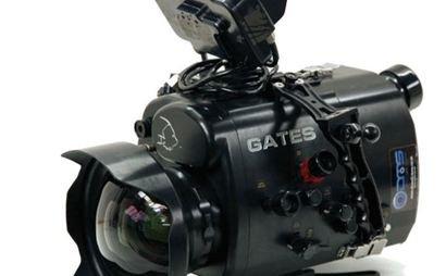 Sony PMW 200 camera in Gates underwater housing