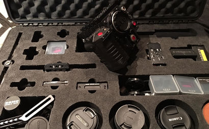 Red Epic Dragon full kit with EF or PL mounts, Sigma and Tokina EF Zooms, Senn Wireless Mike and Shotgun Mike