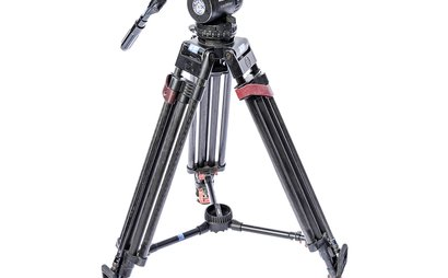Sachtler 100mm Bowl Head Tripod and Single Stage Legs & Spreader