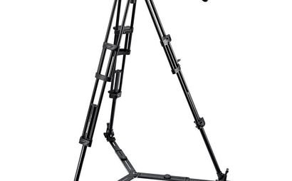 Manfrotto Tripod (546GB) with Pro Fluid Head (504HD)