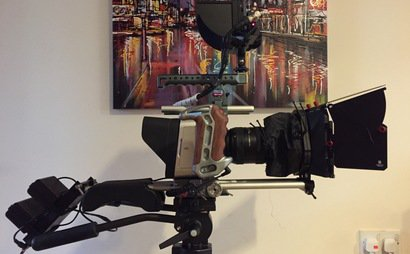 Black magic 4K production Camera