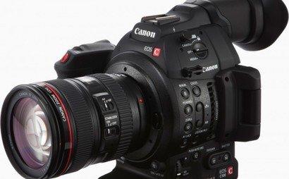 Canon C100 MK2 + Lenses and Tripod