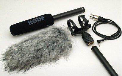 Rhode NTG2 + boom kit