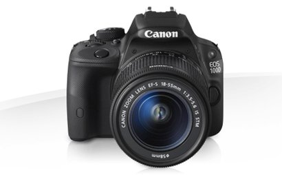 Canon EOS 100d with sound and lighting equipment