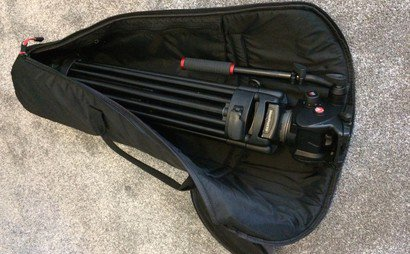 Manfrotto 525MVB with 503HDV Head