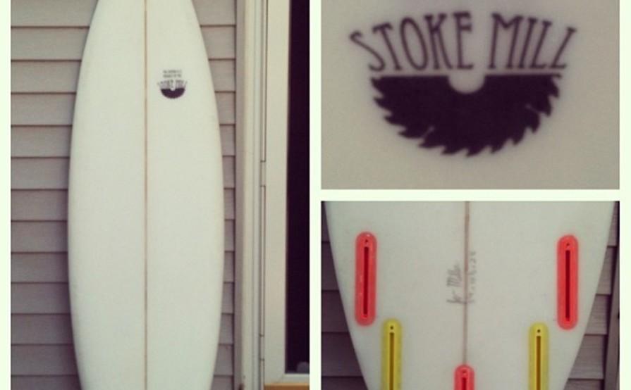 Stoke mill short board 5'9