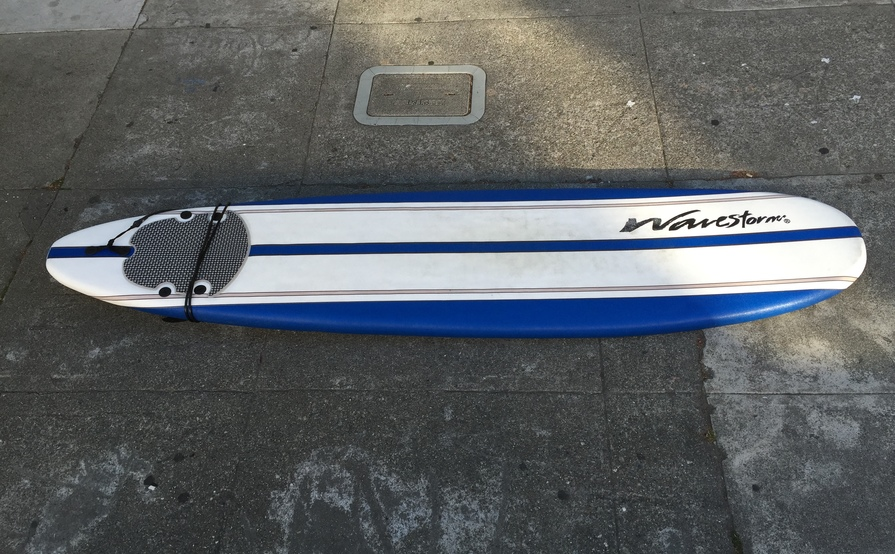 8'0 Wavestorm Soft Top Longboard