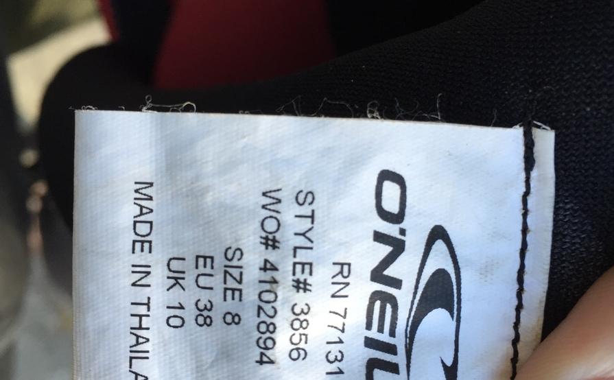 O'Neill Women's 4/3 Wetsuit, Size 8
