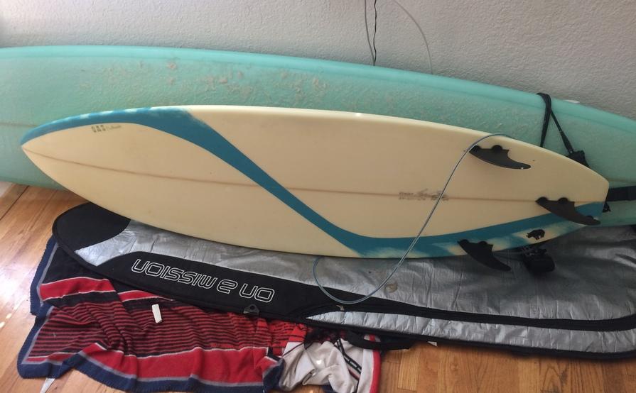 OAS Surfboard: 6'4