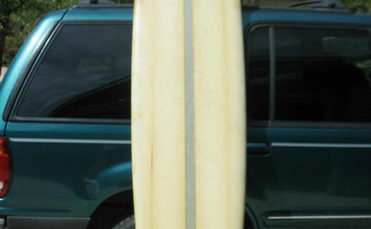 1968 SURF BOARD FROM HARBOUR IN