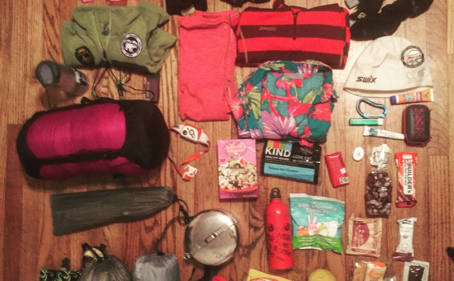Backpacking kit for 1