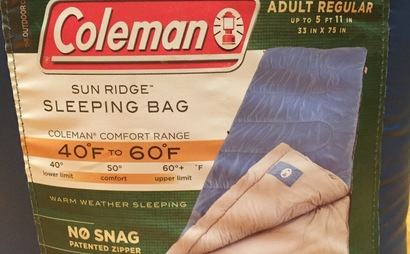 Coleman Sun Ridge Sleeping Bag